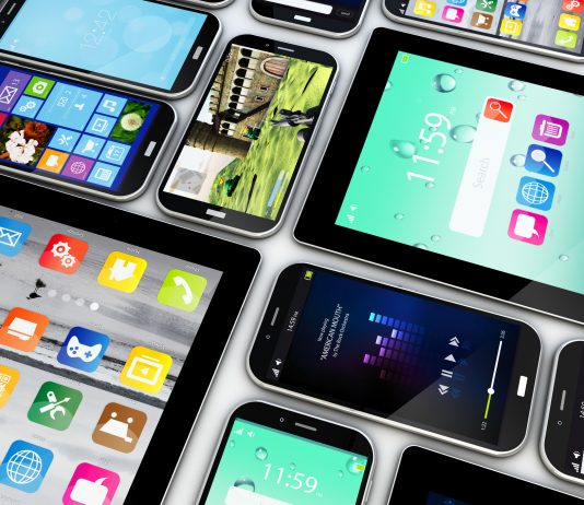 smartphones and tablets collection