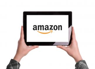 Amazon Logo On Digital Tablet - The Best Amazon Fire Tablet in the Market