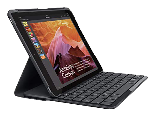Logitech Slim Folio​ Keyboard Case for Apple iPad​